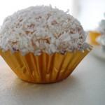 Raffaello® maison à la noix de coco et crêpes dentelles