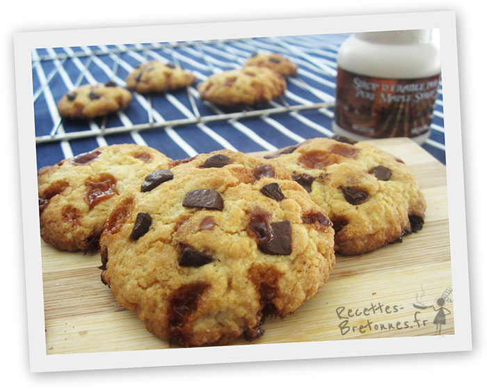 Cookies caramel