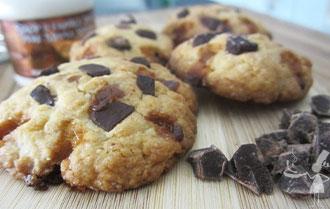Cookie caramel beurre salé