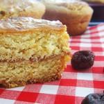 Mini gâteaux bretons fourrés à la confiture de pommes et cranberries