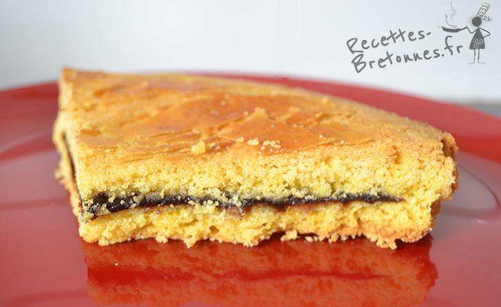 ⇒ recette du gateau breton à la crème de pruneaux