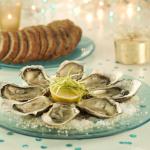 Huîtres chaudes au confit de cidre breton