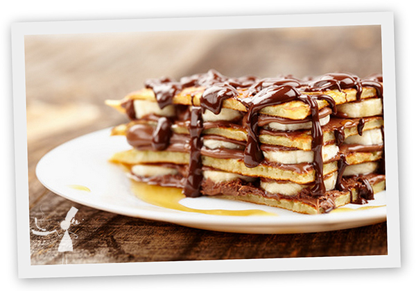 Millefeuille crepes