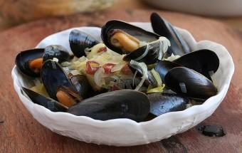Moules au chouchen breton
