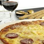 La pizza bretonne à l'andouille de Guémené