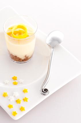 Verrine tarte citron meringuée